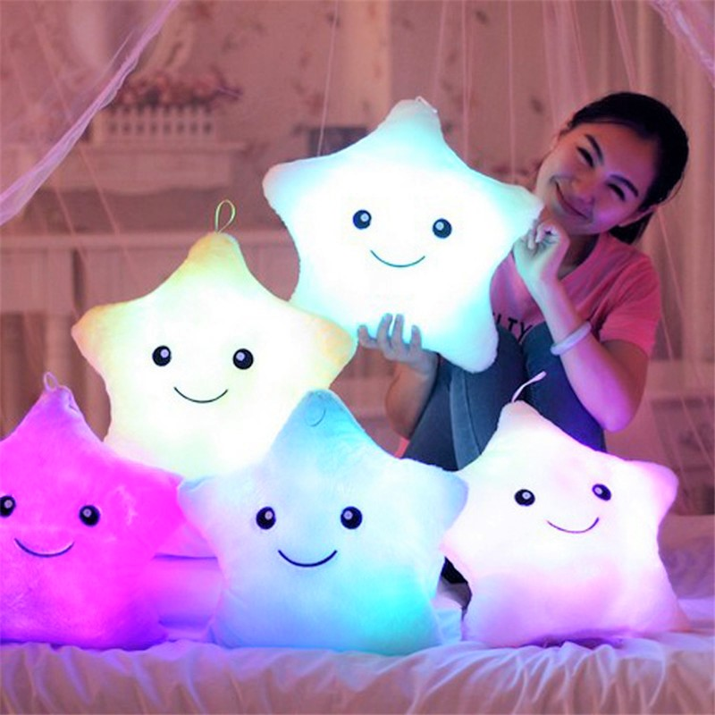 Star Luminous Pillow – Kid's cannot bear to part with it!!!